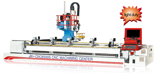 Picture of S Type (3 Axis And 4 Axis) CNC Machining Center for Model No JIH-CNC6500
