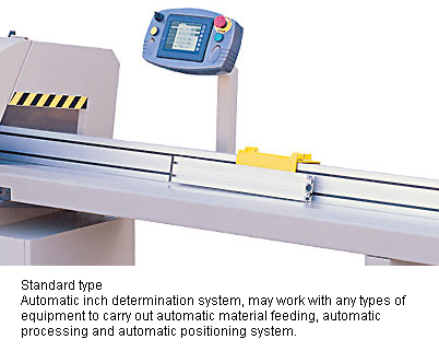 Picture of Outfeed Roller Table (Automatic Positioning System)